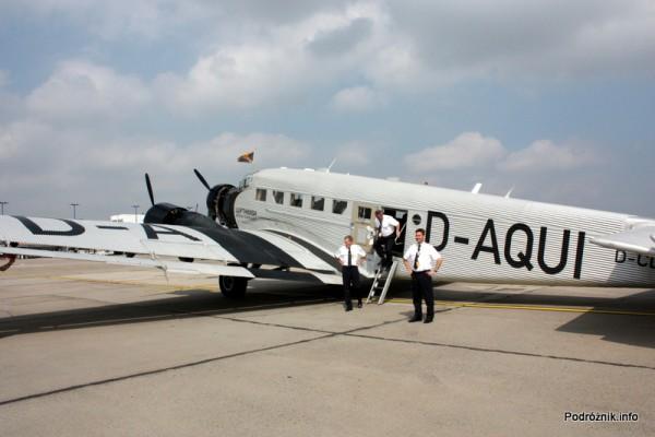 Junkers Ju52/3m - D-AQUI - D-CDLH - samolot i załoga