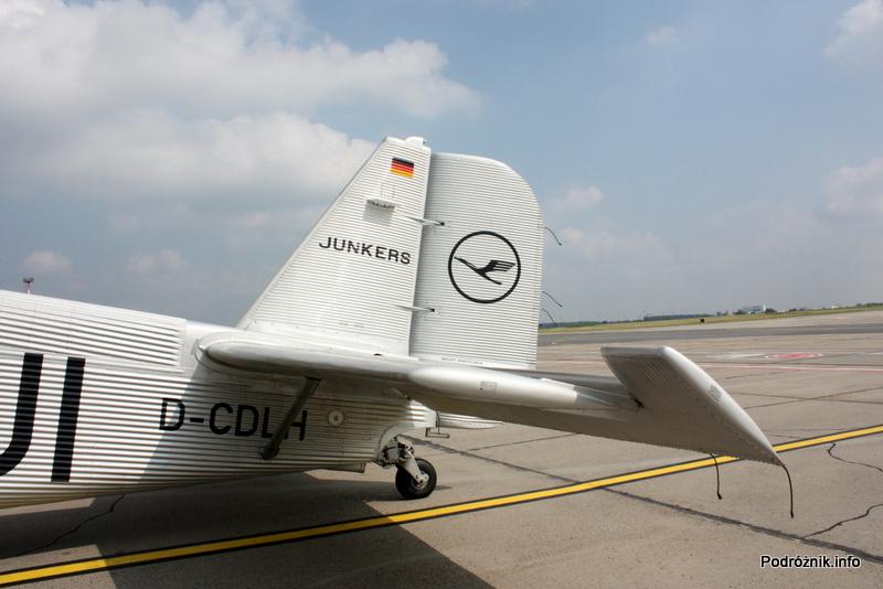 Junkers Ju52/3m - D-AQUI - D-CDLH - ogon
