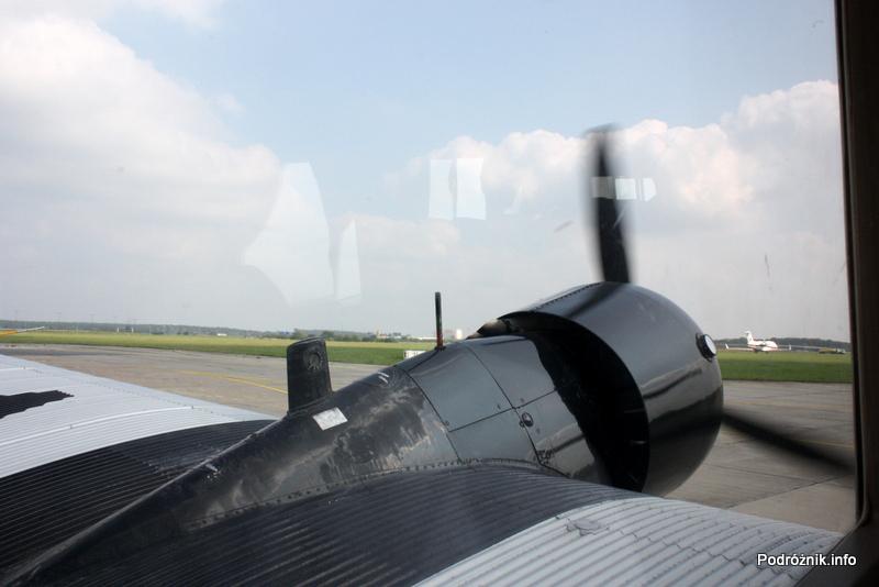 Junkers Ju52/3m - D-AQUI - D-CDLH - safety card - lewy silnik