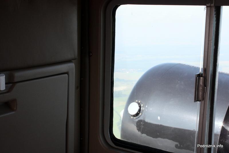 Junkers Ju52/3m - D-AQUI - D-CDLH - prawy silnik podczas lotu