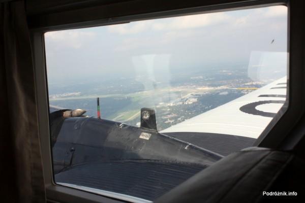 Junkers Ju52/3m - D-AQUI - D-CDLH - widok na lotnisko w Hamburgu
