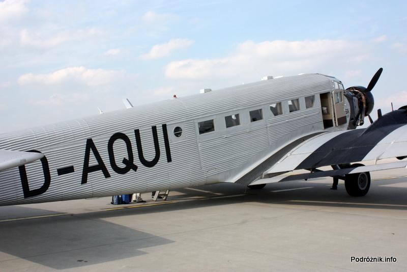 Junkers Ju52/3m - D-AQUI - D-CDLH - z prawej strony