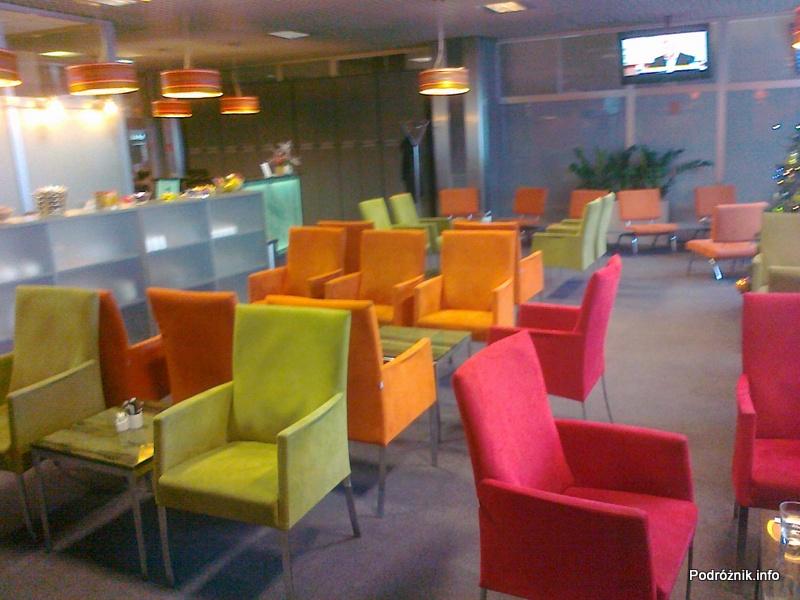 Polska – Kraków – Lotnisko im. Jana Pawła II – Business Lounge - grudzień 2011