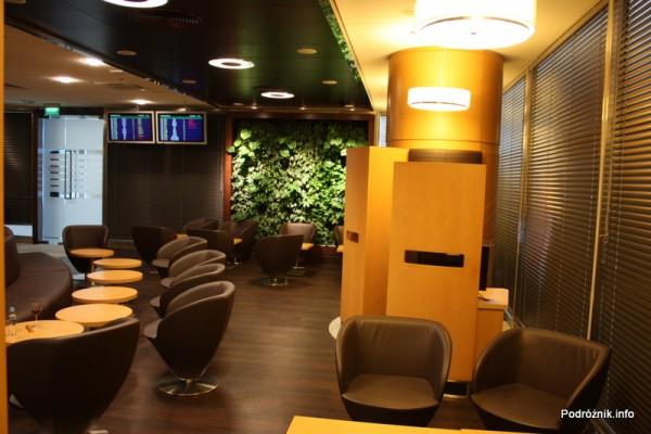 Polska - Warszawa - Lotnisko Chopina - Salonik Executive Lounge Ballada - luty 2012