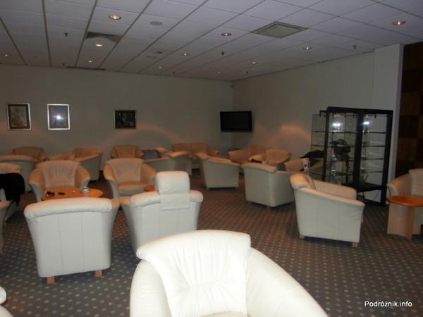Polska - Warszawa - Lotnisko Chopina - Salonik Executive Lounge Preludium - kwiecień 2012