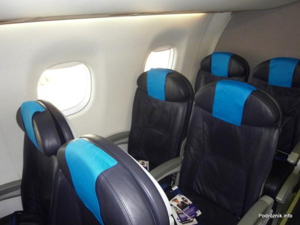 PLL LOT - Embraer 175 - SP-LII - wnętrze