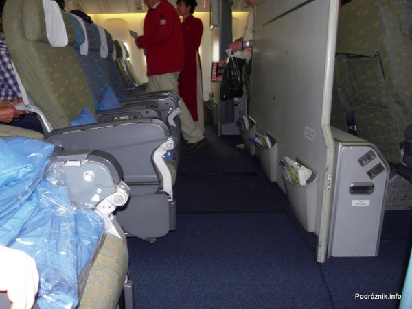 Vietnam Airlines - Boeing 777 - wnętrze - klasa ekonomiczna