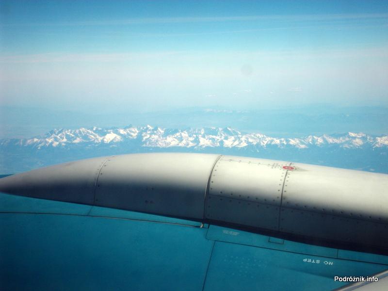 Vietnam Airlines - Boeing 777 - widok na nasze góry