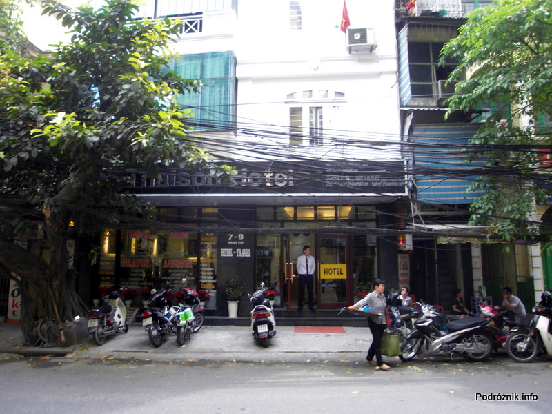 Wietnam - Hanoi - kwiecień 2012 - Thaison Hotel