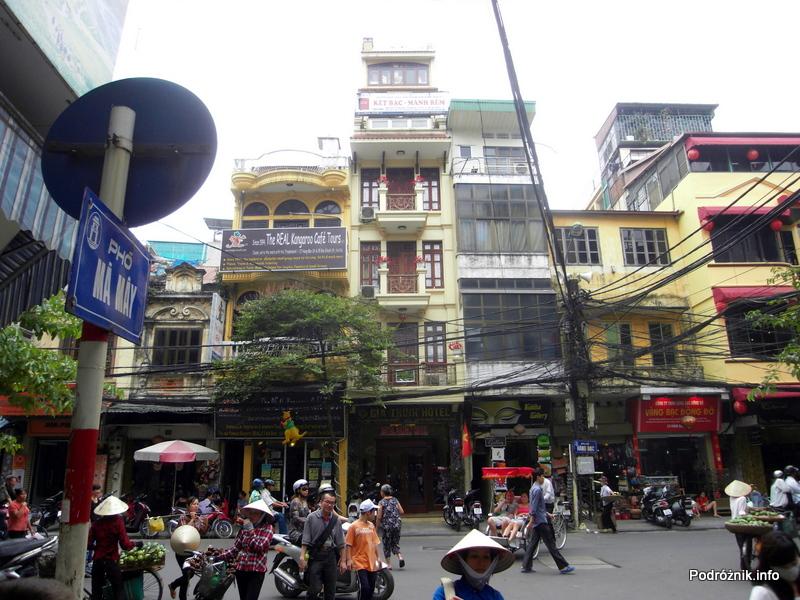 Wietnam - Hanoi - kwiecień 2012 - kable, kable i jeszcze raz kable