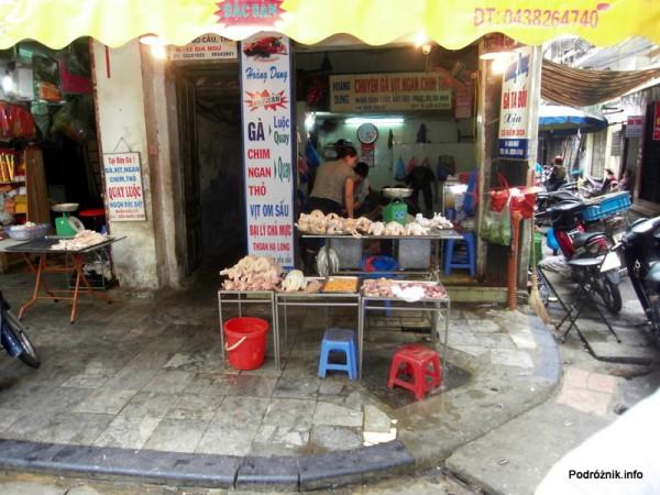 Wietnam - Hanoi - kwiecień 2012 - sklep mięsny
