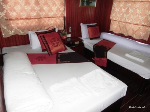 Wietnam - Ha Long Bay - maj 2012 - kajuta Halong Dolphin Cruise