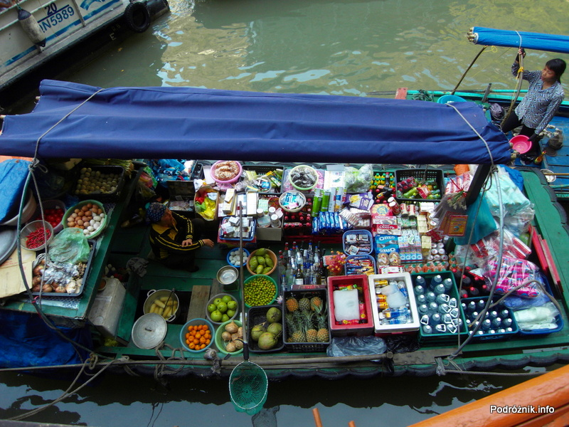 Wietnam - Ha Long Bay - maj 2012 - sklepik na wodzie
