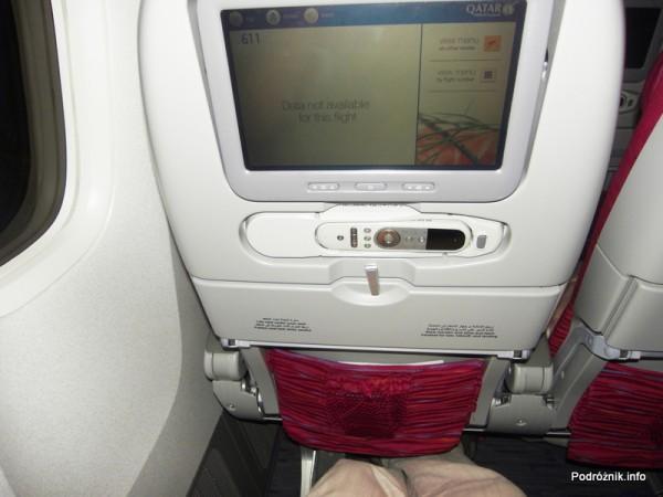Qatar Airways - Boeing 777 - A7-BAA - klasa ekonomiczna