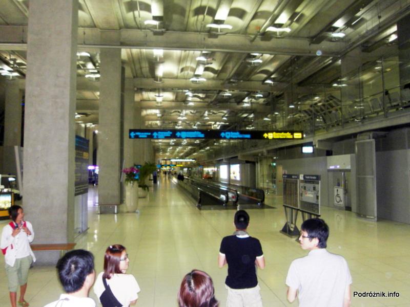 Tajlandia - Bangkok - maj 2012 - lotnisko
