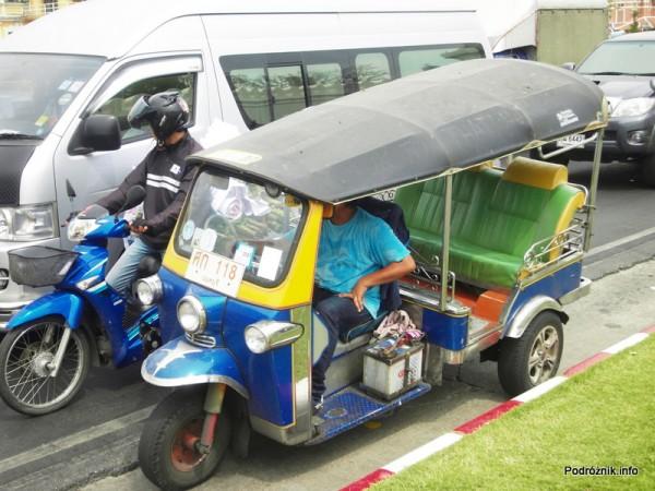 Tajlandia - Bangkok - maj 2012 - tuk-tuk