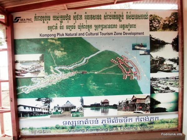 Kambodża - Siem Reap - maj 2012 - plan zwiedzania Floating Village