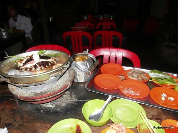 Kambodża - Siem Reap - maj 2012 - restauracja