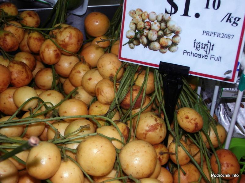 Kambodża - maj 2012 - ang. Pnheave Fruit