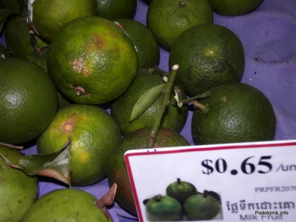 Kambodża - maj 2012 - ang. Milk Fruit