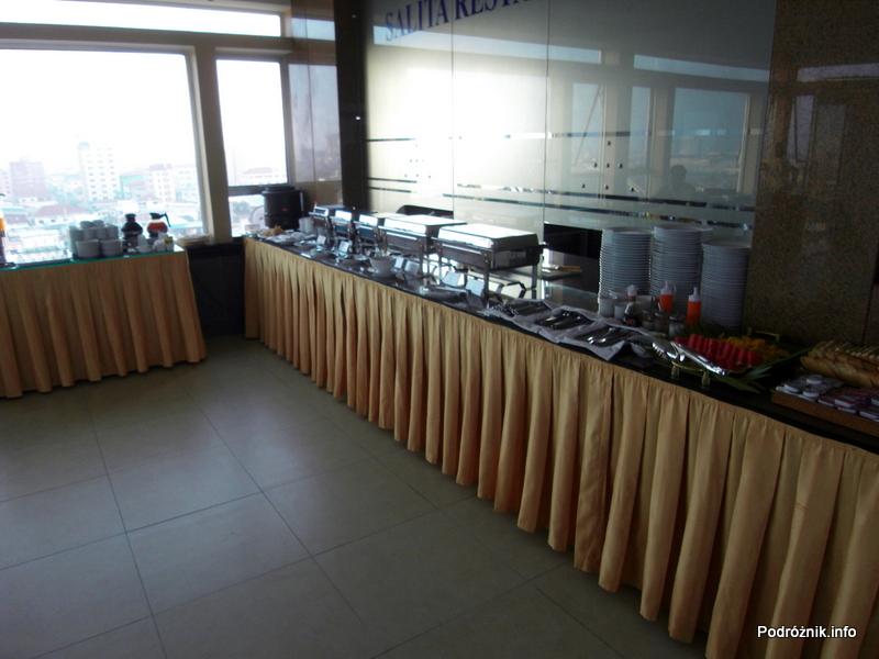 Kambodża - Phnom Penh - maj 2012 - Salita Hotel - śniadanie