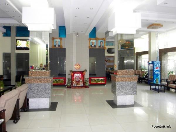 Kambodża - Phnom Penh - maj 2012 - Salita Hotel lobby