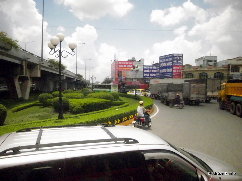 Wietnam - maj 2012 - widok z okna autokaru