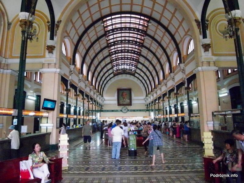 Wietnam - Ho Chi Minh (Sajgon) - maj 2012 - Poczta Główna (Buu Dien Saigon)