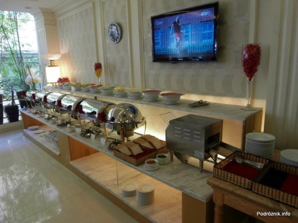 Wietnam - Ho Chi Minh (Sajgon) - maj 2012 - Silverland Hotel & Spa -śniadanie