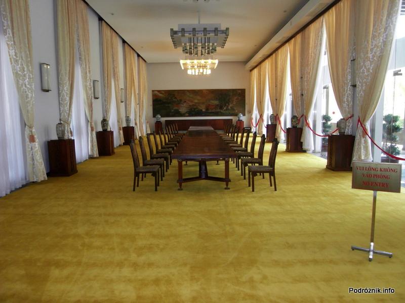 Wietnam - Ho Chi Minh (Sajgon) - maj 2012 - Pałac Zjednoczenia