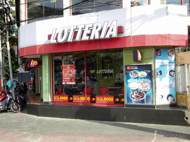 Wietnam - Ho Chi Minh (Sajgon) - maj 2012 - Fast Food Lotteria