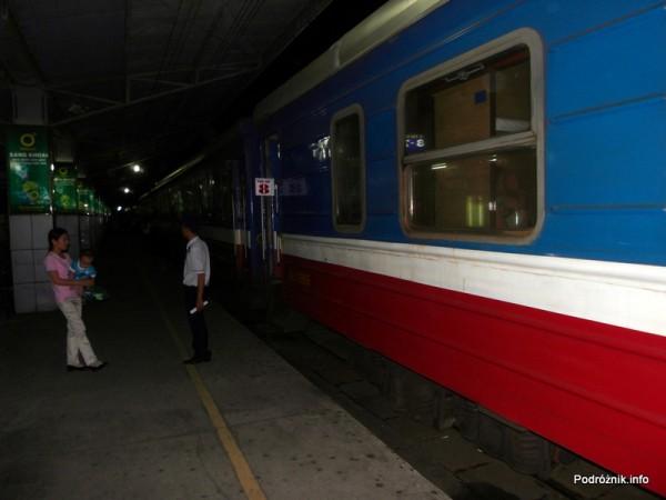 Wietnam - maj 2012 - pociąg z Ho Chi Minh (Sajgon) do Nha Trang