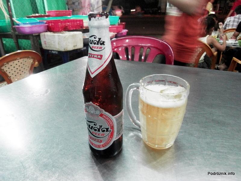 Wietnam - Nha Trang - maj 2012 - piwo z lodem