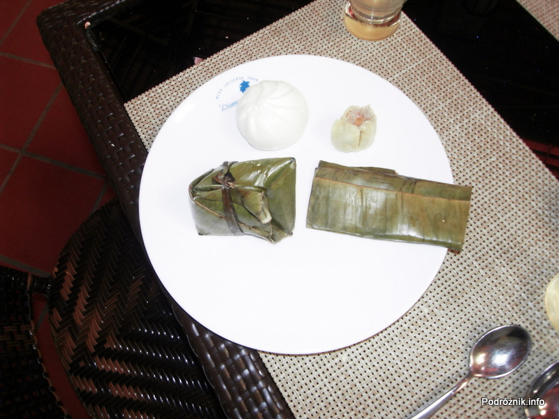 Wietnam - Nha Trang - maj 2012 - Diamond Bay Resort & Spa - Wietnam - Nha Trang - maj 2012 - Diamond Bay Resort & Spa - Rice Cakes, Steamed Dumpling, Dim Sum