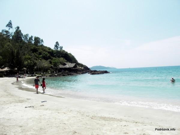 Wietnam - Nha Trang - maj 2012 - Diamond Bay Resort & Spa - piękna plaża