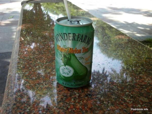 Wietnam - maj 2012 - herbata z Beninkaza szorstka (ang. Winter Melon Tea)