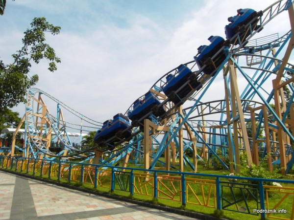 Wietnam - Nha Trang (Vinpearl Land) - maj 2012 - rollercoaster