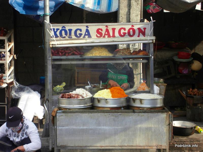 Wietnam - Nha Trang - maj 2012 - stoisko z jedzeniem