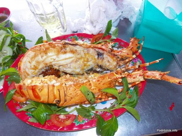 Wietnam - Nha Trang - maj 2012 - upieczony homar