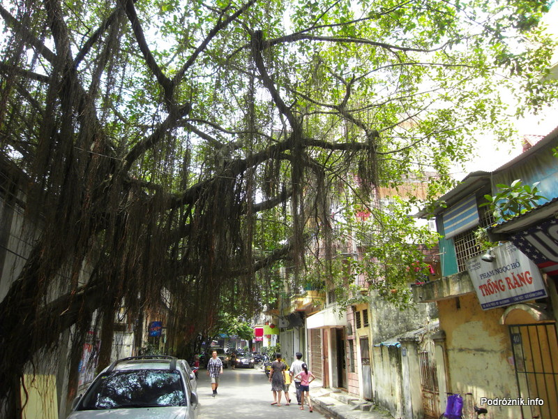 Wietnam - Hanoi - maj 2012 - ulica