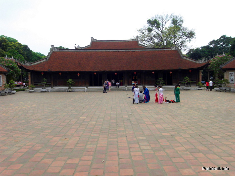 Wietnam - Hanoi - maj 2012 - Świątynia Literatury