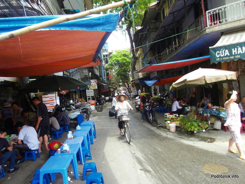 Wietnam - Hanoi - maj 2012 - życie na wietnamskiej ulicy