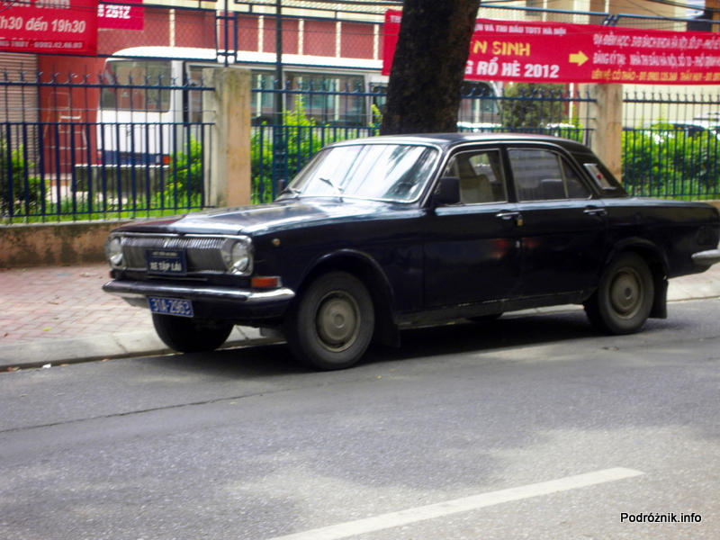 Wietnam - Hanoi - maj 2012 - czarna wołga