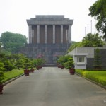 Wietnam - Hanoi - maj 2012 - Mauzoleum Ho Chi Minh