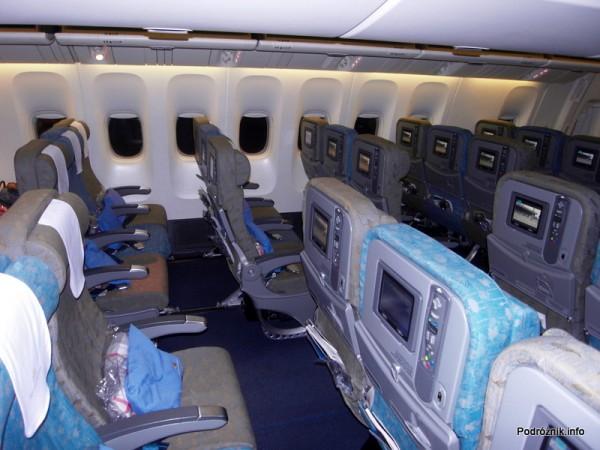 Vietnam Airlines - Boeing 777 - VN-A146 - wnętrze - klasa ekonomiczna deluxe