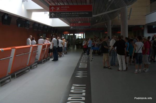 Lotnisko Modlin - stanowiska odprawy