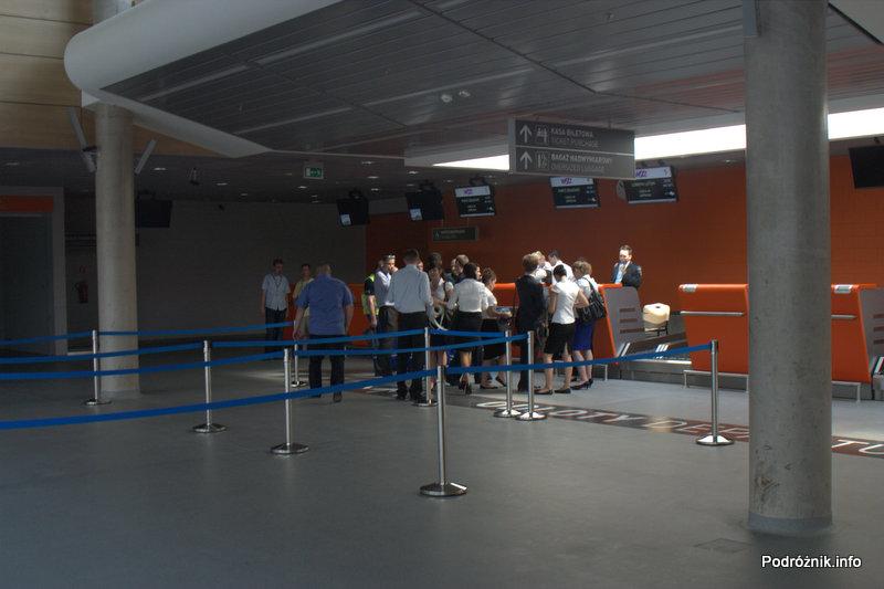 Lotnisko Modlin - hala odlotów