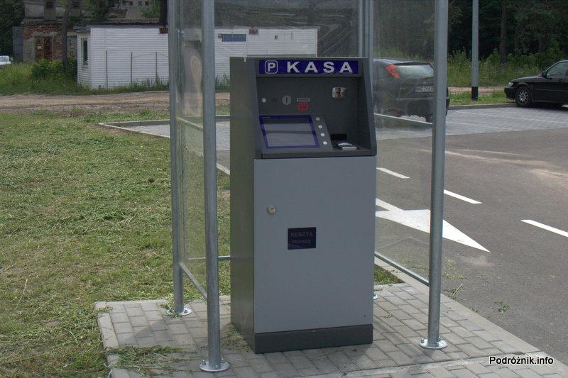 Lotnisko Modlin - kasa parkingowa
