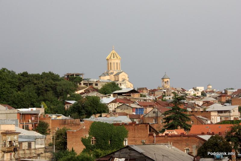 Gruzja - Tbilisi - sierpień 2012 - cerkiew Cminda Sameba (Święta Trójca)