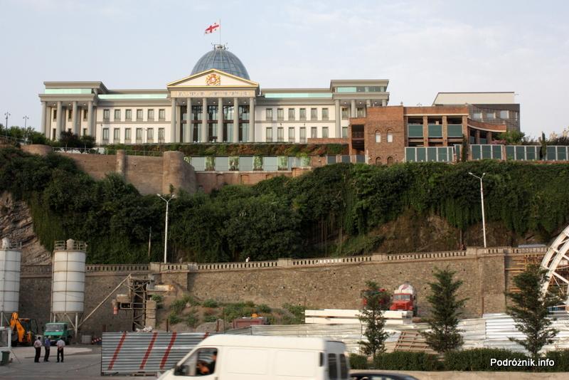 Gruzja - Tbilisi - sierpień 2012 - Pałac Prezydencki